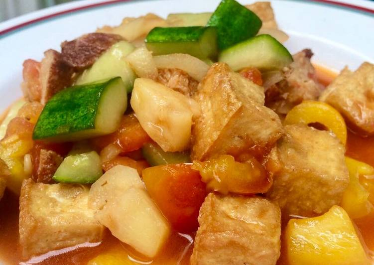 เมนูอาหารที่สามารถทำตามๆได้ง่าย เมนูผัดซอสเปรี้ยวหวาน รับรองว่าจะเป็นเมนูอาหารจานโปรดได้แน่นอน