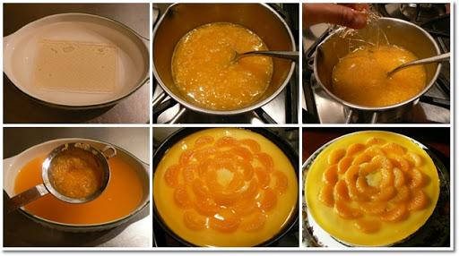 ขั้นตอนการทำตัวชีสเค้กส้ม