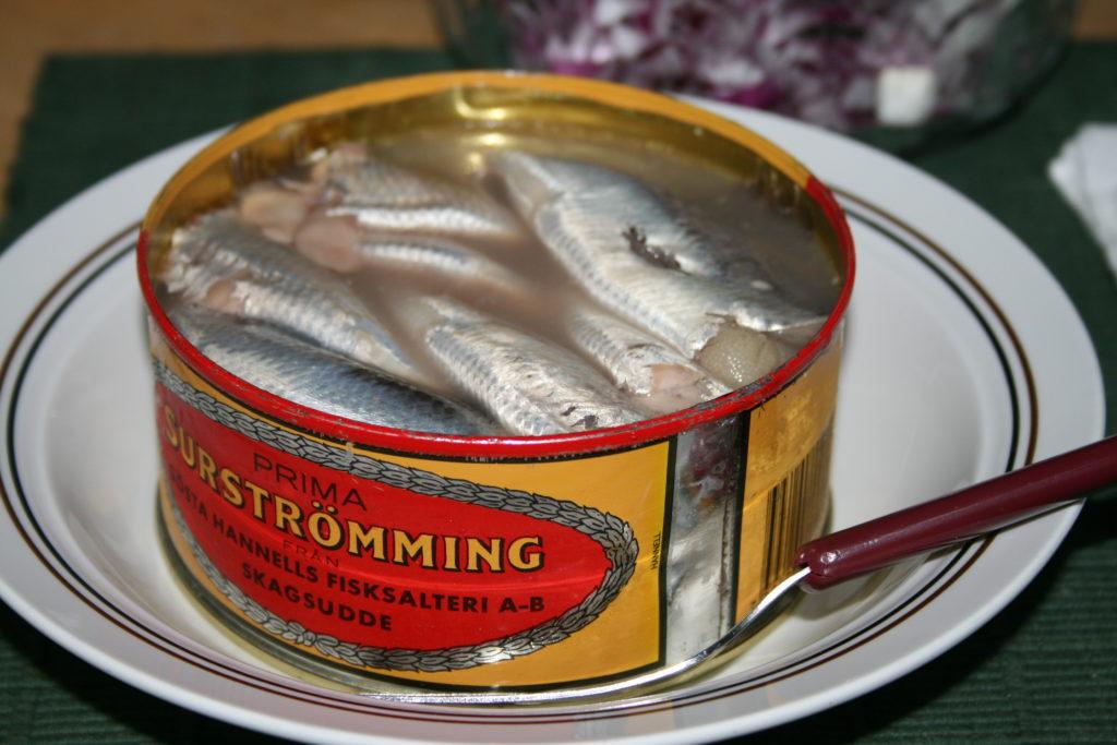 ปลาร้าสวีเดน การถนอมอาหารจากประเทศสวีเดน