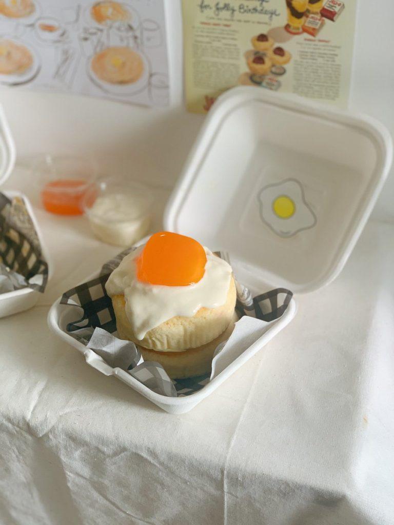 ขั้นตอนการเตรียมวัตถุดิบ ในการทำ เมนูชีสเค้กไข่ดาว