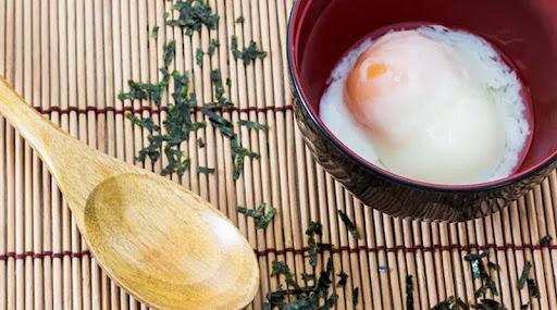 ไข่ออนเซ็น เมนูอาหารเช้า