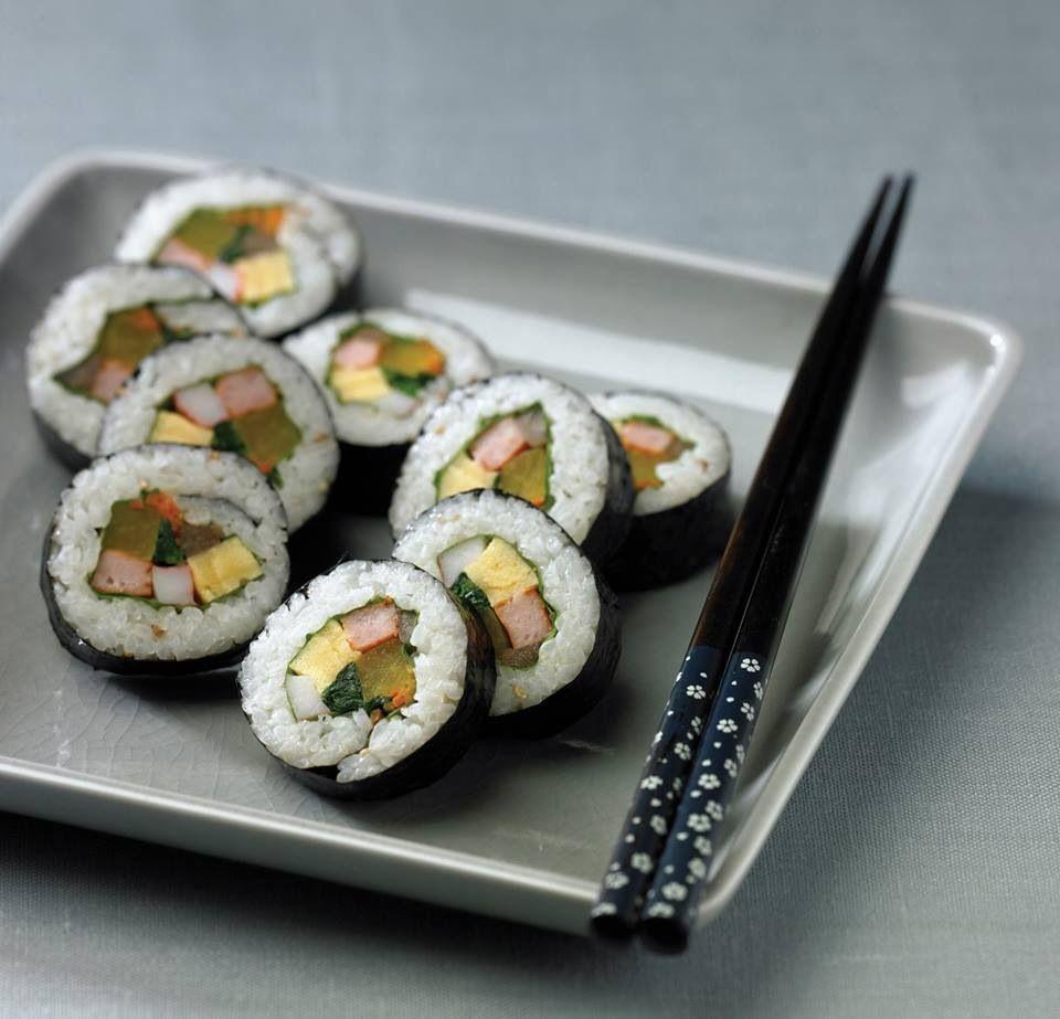 เมนูอาหารเกาหลี เมนูอร่อยน่าทาน เมนูแรก คือ คิมบับ