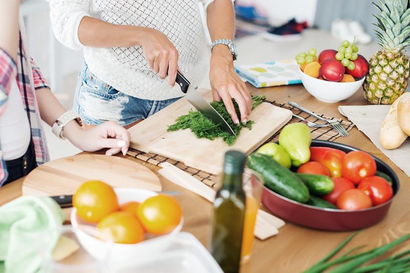 วิธีปรับสูตรอาหาร เน้นสูตรอาหาร ที่มีผัก