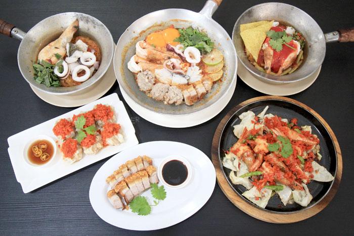ร้านอาหารย่านพุทธมณฑล ร้านอาหารที่สาม คือ อบทะเล ศาลายา
