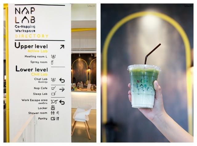 เครื่องดื่ม ร้าน NapLab