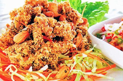 เมนูยำปลานิลฟู สูตรเด็ดยำขนมจีน