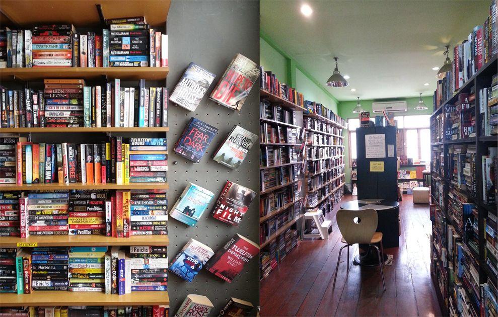 ร้าน Dasa Book Cafe  ที่อยู่ในกลางกรุงเทพ
