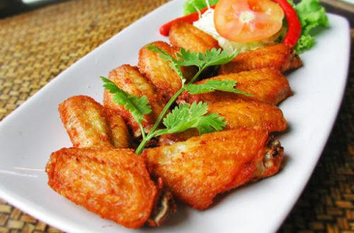 เมนูปีกไก่ทอดน้ำปลา ที่กรอบรสชาติอร่อย