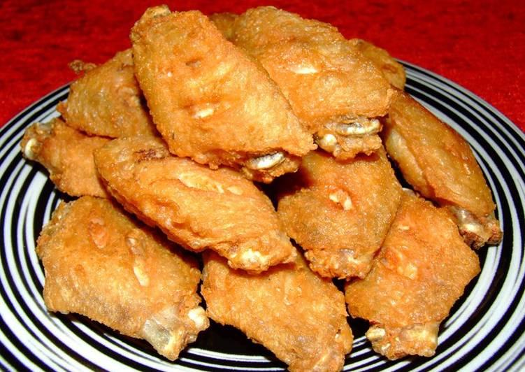 เมนูปีกไก่ทอดน้ำปลา เมนูอร่อย