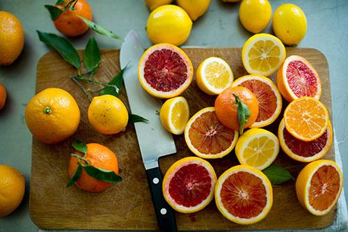 การเลือกใช้ ผลไม้ตระกูลส้ม เพิ่มความอร่อย