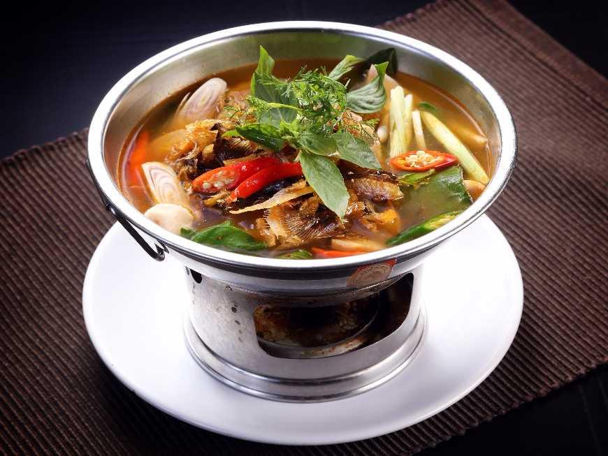 เมนูต้มโคล้งปลากรอบ เมนูที่มีความหอมของสมุนไพรไทย