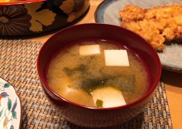 ซุปมิโซะ เมนูอาหารยอดฮิตที่คนญี่ปุ่นนิยมทาน