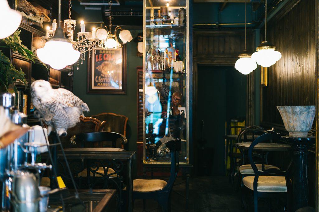 Café สไตล์ Vintage
